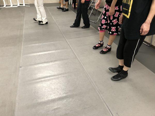 土曜日 タップダンス