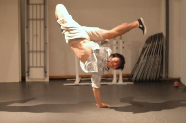 ブレイクダンスのジョーダン
